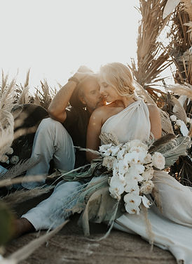 Palmaia Boho Micro Wedding by Arlenis We