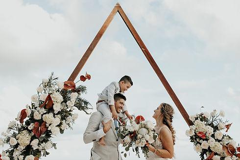 Casual-Beach-Wedding-in-Tulum-Mexico-Arl