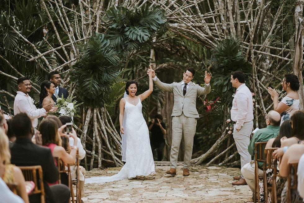 Tulum Jungle Wedding by Arlenis Weddings