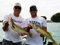 2 Walleyes