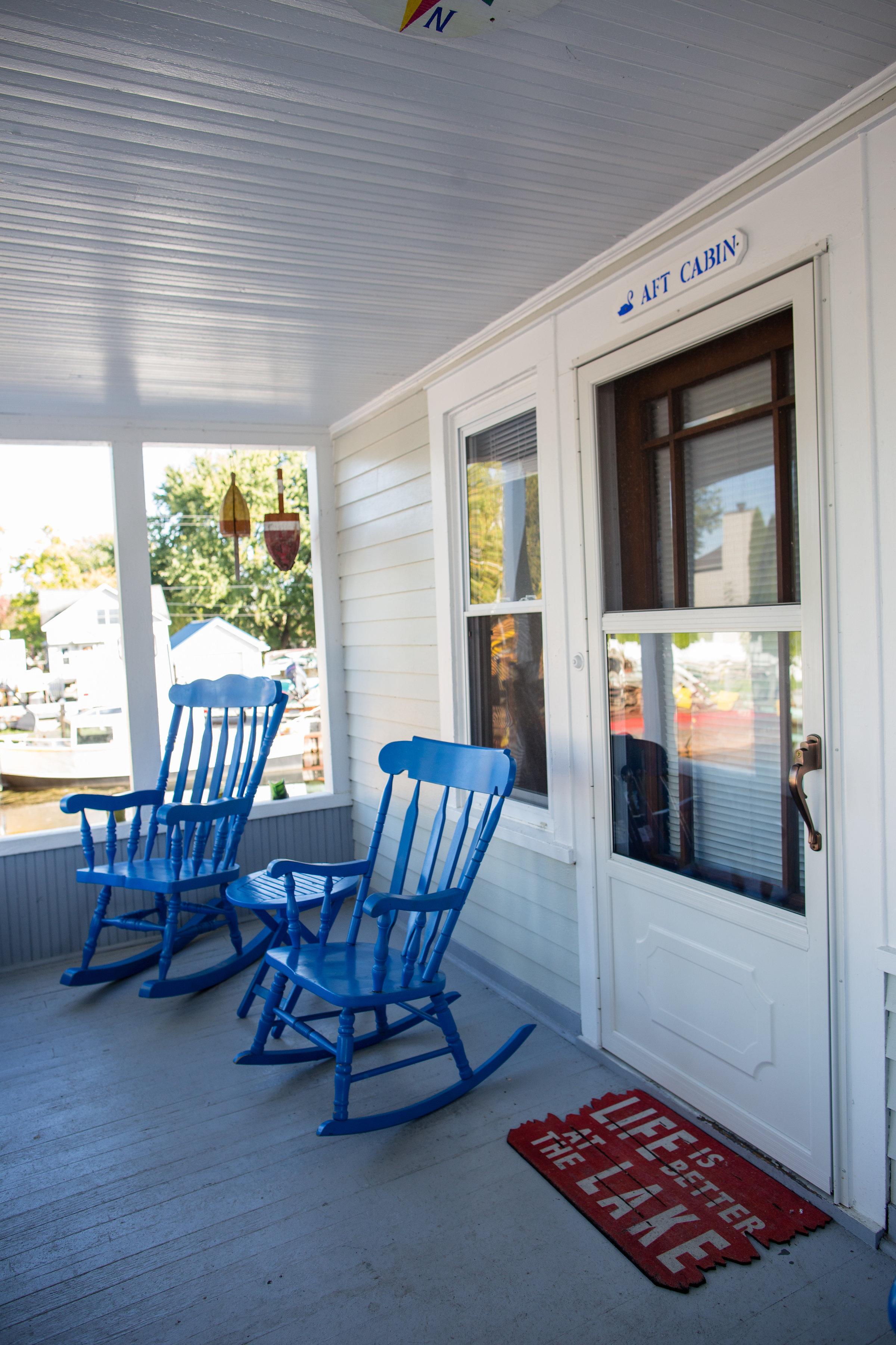 AFT porch