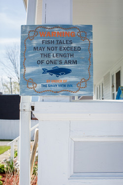 Fish Tales sign
