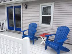 Starboard cabin deck