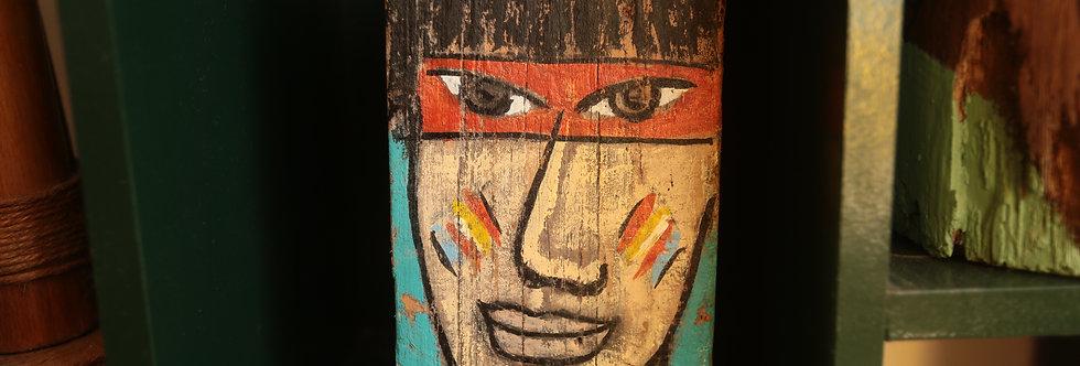 Madeira de Mesa Índios Dupla Face M