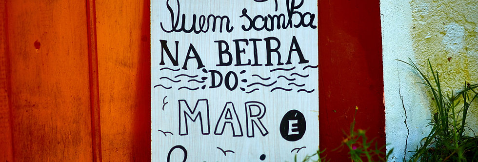Placa Quem samba