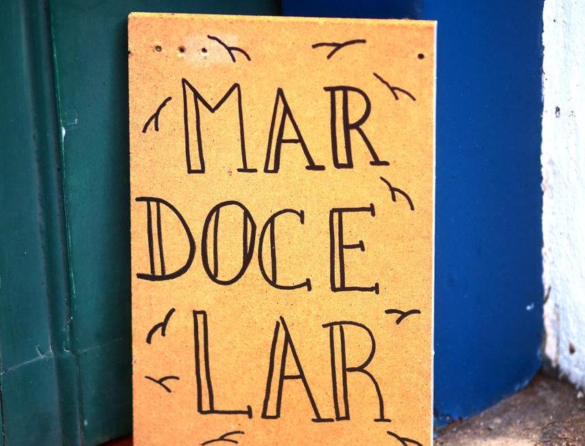 Placa Mar Doce Lar