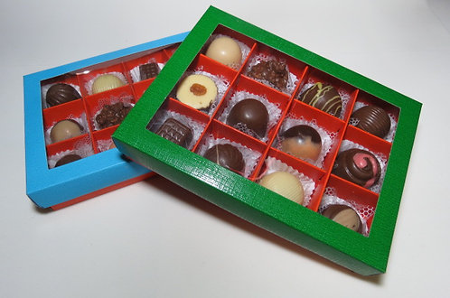 Caixas Colorida com 12 Bombons (cada)