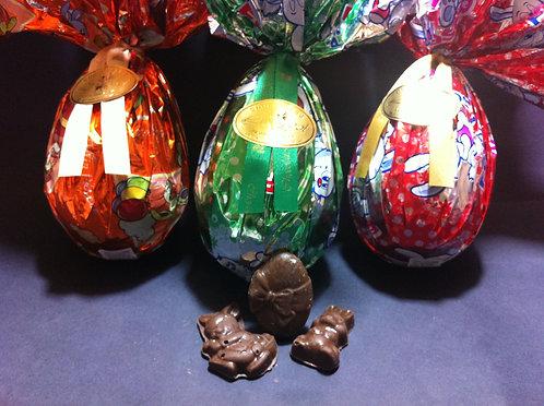 Ovo de Chocolate ao Leite 100 g Unitário