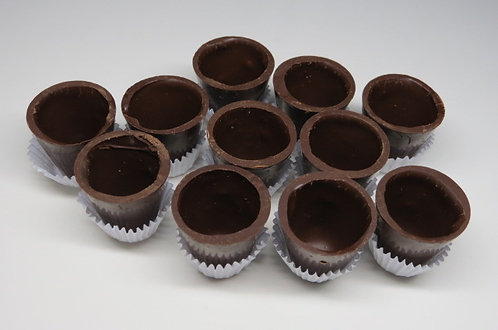Copinhos de Chocolate para Licor