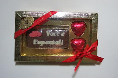Caixa 02 Corações com Mensagem