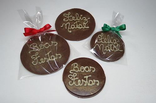 Medalha de Chocolate Pequena (unidade)