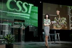 CSST 2013 stage applau