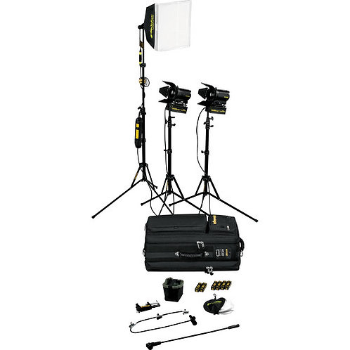 Dedolight SPS3U 3-Light Portable Lighting Kit
