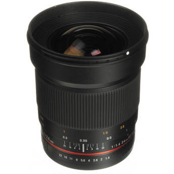 Samyang 24mm f/1.4 UMC Wide-Angle Lens for Canon