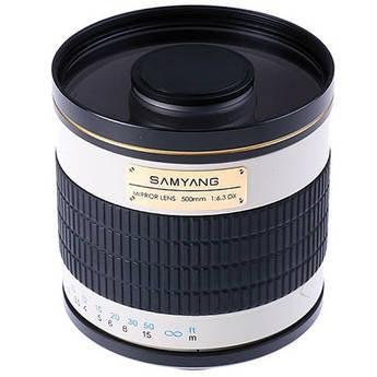 Samyang 500mm f/6.3 Mirror Lens