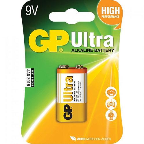 Battery GP Ultra Alkaline 9V