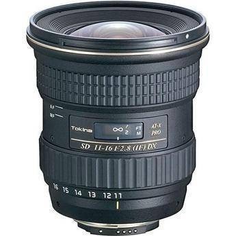 Tokina 11-16mm f/2.8 AT-X 116 Pro DX AF Lens