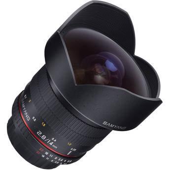 Samyang 14mm Ultra Wide-Angle f/2.8 Lens EF Mount
