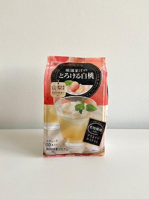 白桃果汁(沖泡) 10入