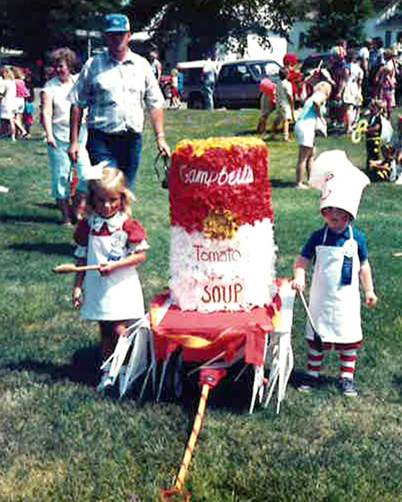 The 1987 Campbell Soup Kids entry was one of Millie's favorite. Contributed photo