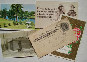 Message in a postcard