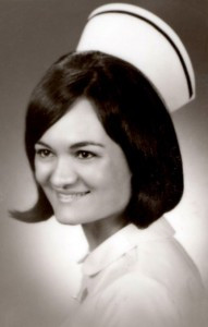 Nurse Mikki Lovelace in 1966.