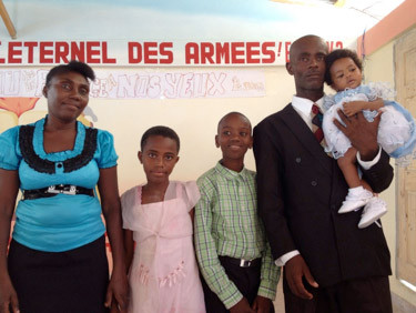 Darius Family: Edna, Josef, Martelly, Virginia, Neftali