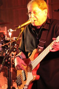 Hall of Fame musician Mike Shaw, of Hutchinson, has been playing guitar since he was in grade school.  For more than 50 years he's performed with many groups including the popular Shaw Allen Shaw and Shaw Bands.  Photo by Steve Palmer
