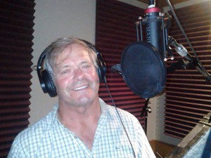 Fred Walter in the Omni studio in Nashville, recording a Southern Gospel album. Fred has been bringing Southern Gospel music to west central Minnesota for many years.                          Contributed photo