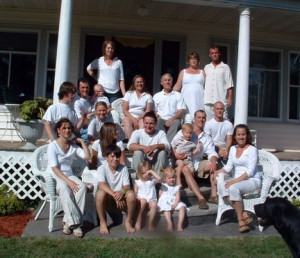 A family photo of the growing Wales family. Contributed photo