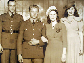 War bride tells story of 'lost and found'