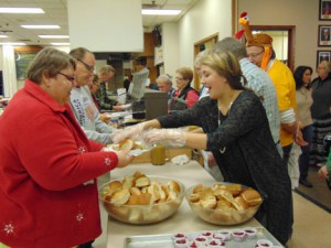 DAV of Hutchinson serves a Thanksgiving meal to those less fortunate. Last year, the group served 380 meals. Contributed photo