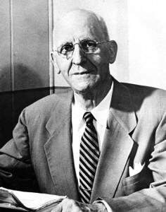 "T.A. ""Dad"" Erickson, the son of Swedish immigrants, was a teacher and later superintendent of schools for Douglas County. He also developed a school fair idea that flourished in outstate Minnesota. Contributed photo"