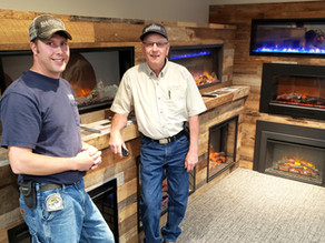 The Fireplace Store has new showroom