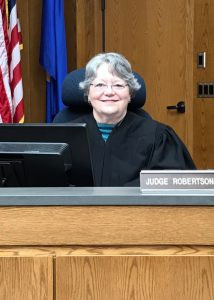 Sally Robertson, of Wadena, has been a district court judge since 1996. Robertson's current term expires in 2023, but she will retire before then.    Contributed photo