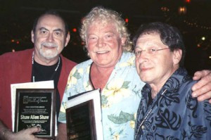 Minnesota Music Hall of Fame Shaw Allen Shaw Band members from the group that started in 1969 include from left: Terry Shaw, Jim Allen and Mike Shaw. (Contributed photo).