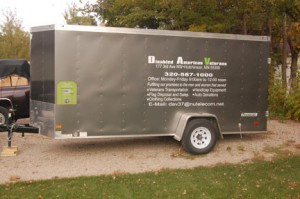 A trailer that DAV uses to help veterans. Contributed photo