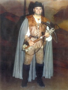 Lee Roisum as the title role in William Tell in Lugano, Switzerland. Contributed photo