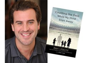 Ben Utecht, former football player for the Minnesota Gophers and Indianapolis Colts, will be the keynote speaker at this year's Fall Into Health hosted by Stevens Community Medical Center at the Morris Elementary School. Utecht will also be available to sign his new book, Counting the Days While My Mind Slips Away.