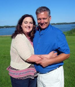 Lisa and Curt Malecha Photo by Carol Stender