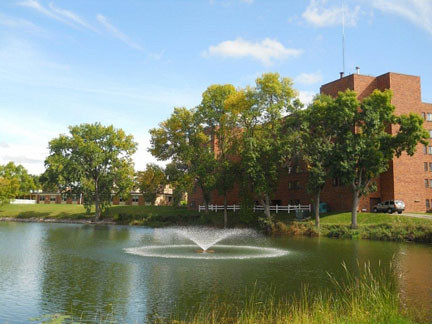 The Mill Pond View Apartments in Pelican Rapids, is one of the Schuett Companies properties. Contributed photo