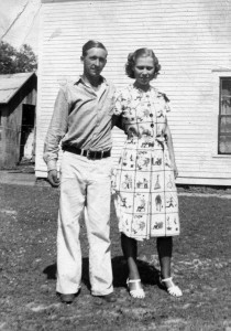 Clinton and LouClare,1938