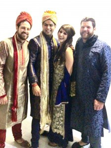 Four friends who met in Dublin (L to R) Marcos, Gaurav, Rebekka, and Dustin. Contributed photo