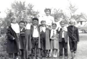 The second grade class during the 1949-50 school year in Belle Plaine, Minn. Dorothy Bullert of Hutchinson is pictured fourth from the right. Submitted by Dorothy Bullert