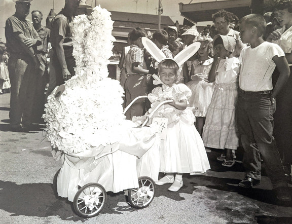 In 1960, Millie Zavadil entered her three-year-old daughter, Lynn, in the doll buggy division of the Glenwood Waterama Kiddie Parade... and a family tradition was born. Contributed photo