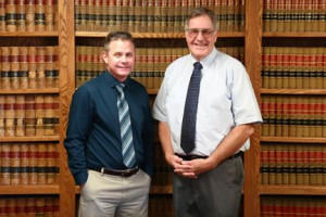 Michael E. Barrus, EA, and Jan G. Philipsen, CPA, offer bookkeeping and tax preparation at Obenland & Nelson Law Office in Glenwood. Contributed photo