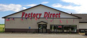 Factory Direct was once the Heikes family's roller skating rink. Contributed photo