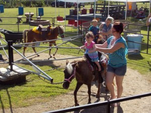 Pony Rides at the Rockin C Horse Farm. Photo contributed.