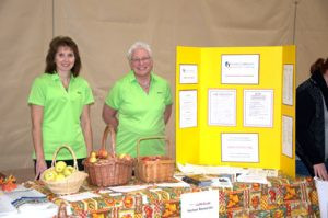 Health-related booths will be set up during Fall Into Health. Contributed photo was taken at last year's event.