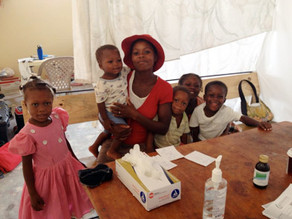 Mission in Haiti: Helping families